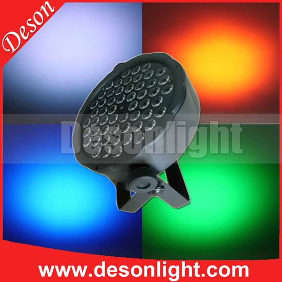 54pcs full-color plastic LED Par Light stage use decoration LP-5401