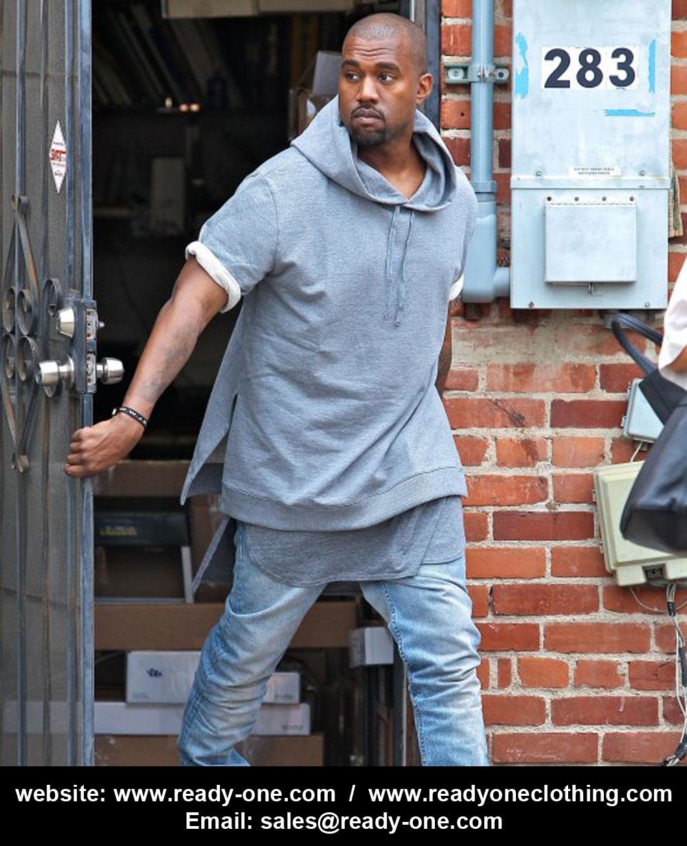 Kanye West Short sleeves Stylish Hoodie