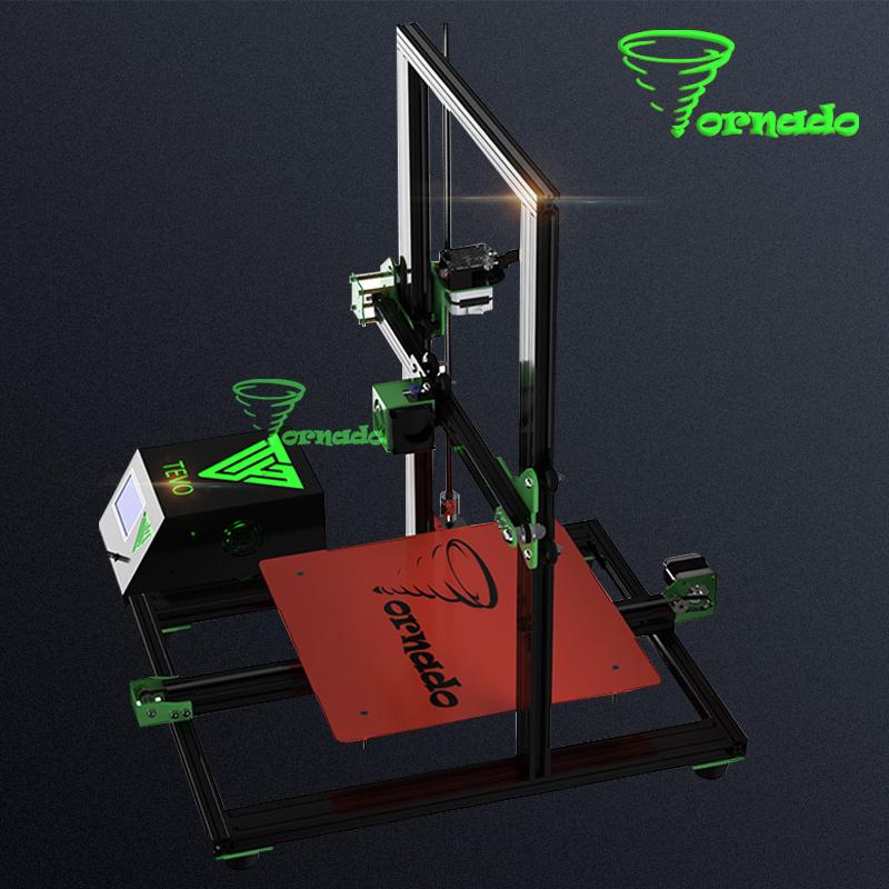 2017 Newest TEVO Tornado 3D Printer Fully Assembled 3D Printing