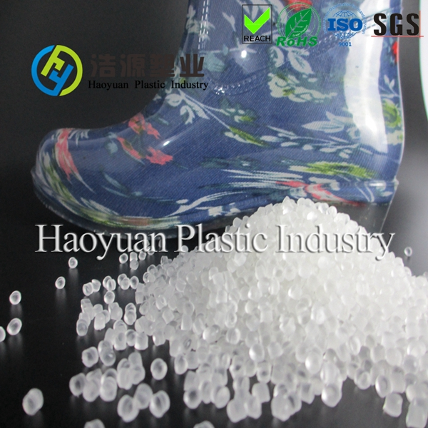 Soft PVC granules for PVC shoes