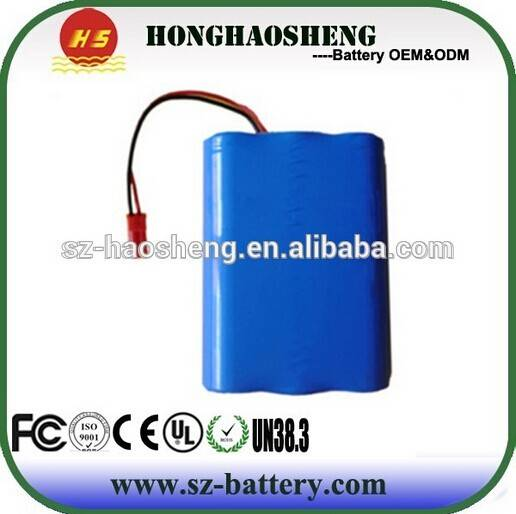High Capacity Customized Cell  Li-ion Battery 12V 8AH