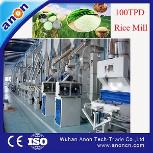 ANON Automatic Rice Mill Price