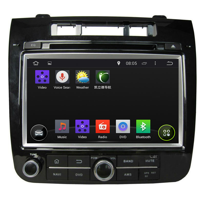Car GPS DVD player for VW Touareg 2010-2013,7 inch android system, wifi,1+16GB