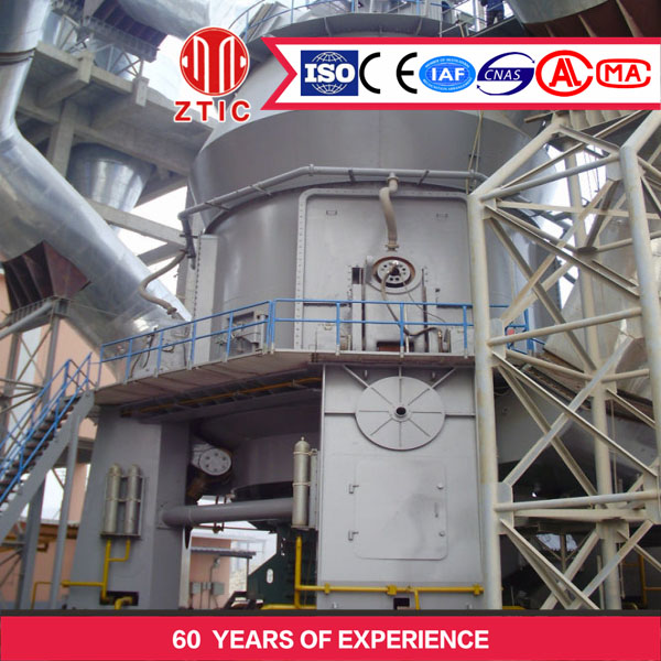 Low wear rate little metallic pollution Raw Vertical Mill seller in China