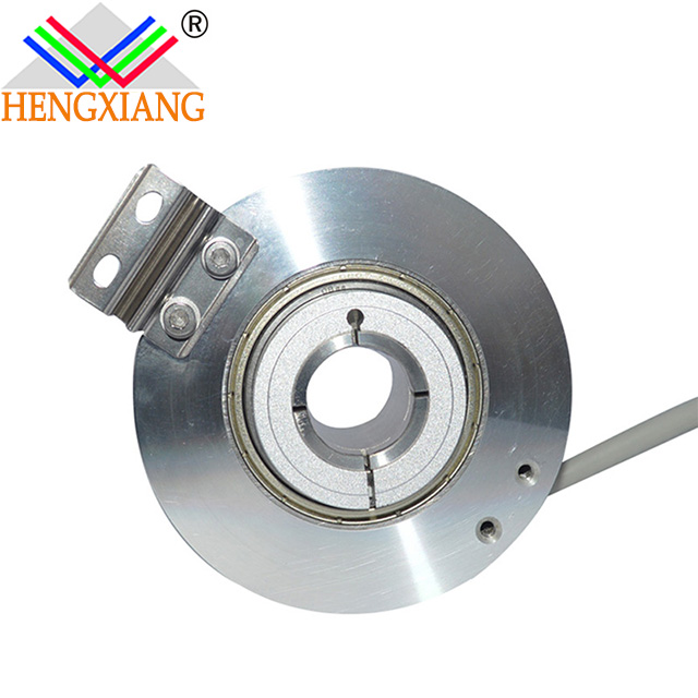 Hengxiang Hollow Shaft High-Precision Encoder With External Diameter 76mm Through Hole 30mm Keyway