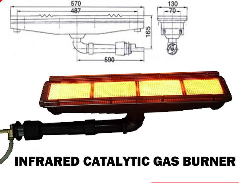Industrial infrared gas burner,gas infrared burner HD162