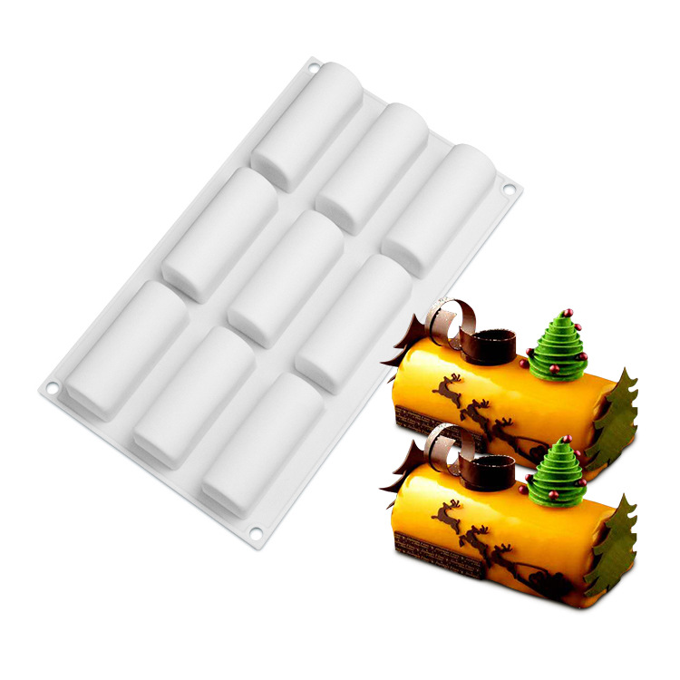 Free Sample Food Grade Silicone Cake Mold Baking Mousse Pudding Mold Tool