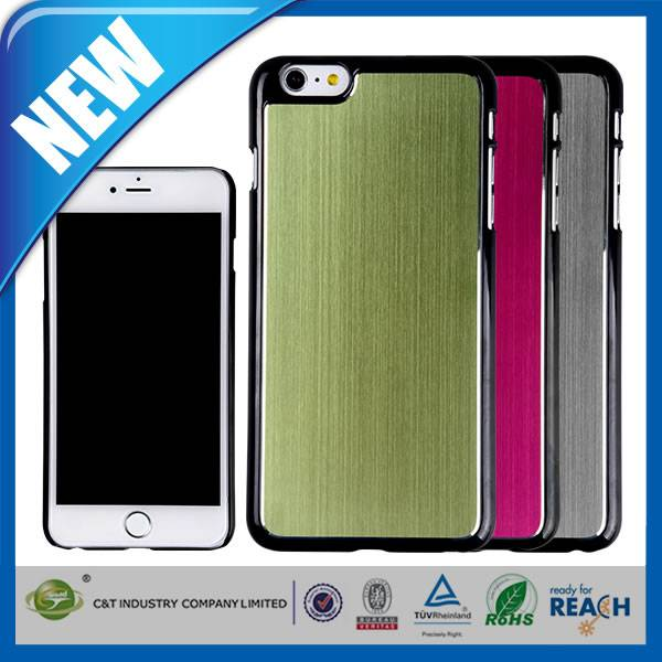 C&T New style hard back aluminum phone case for iphone 6