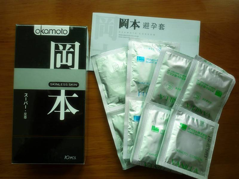hot sell natural latex condoms for making love Okamoto