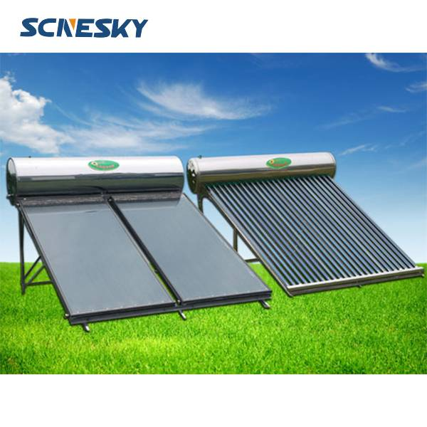 Hot sell fashionable Compact Flat plate Solar Water Heaters And Flat Panel Solar Water Heater System