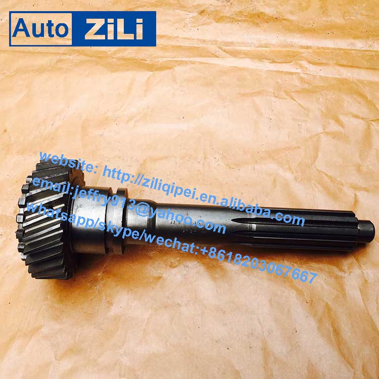 High precision made in china truck and bus S6-90 transmission gearbox driving shaft input shaft 1113