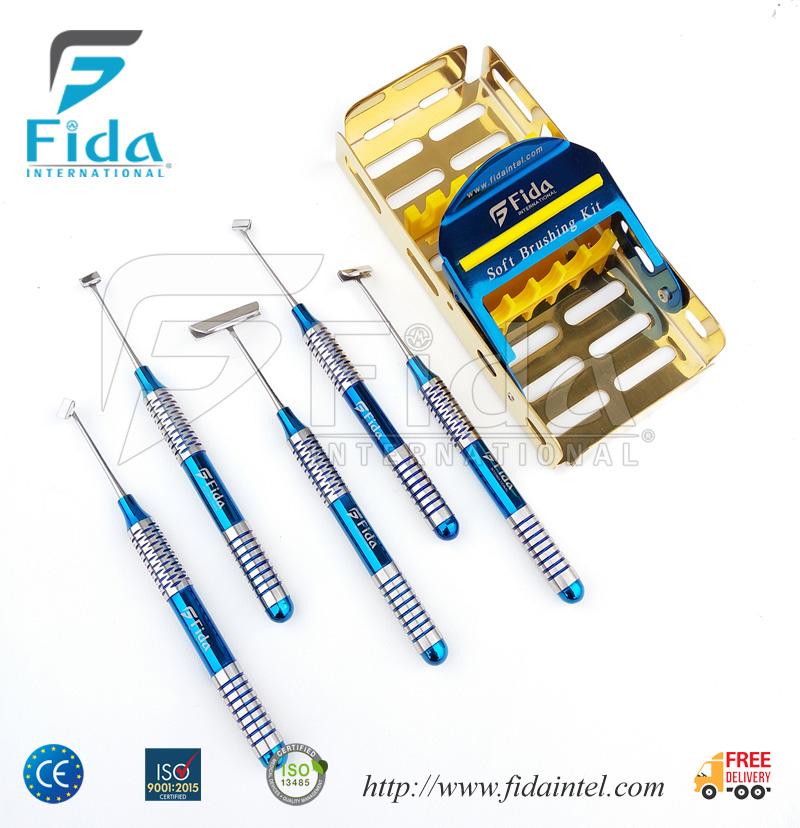 Dental Soft Brushing Kit CE Approved ISO 13485 Dental Implant Kit