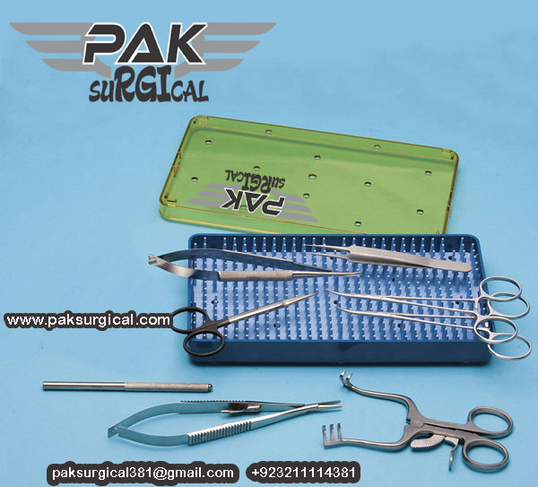 MICRO-SURGICAL KIT Pak surgical