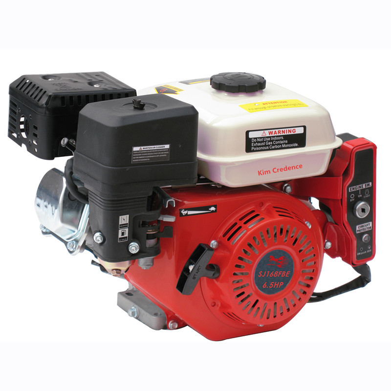 SJ168FBE 6.5hp GASOLINE ENGINE with high quality