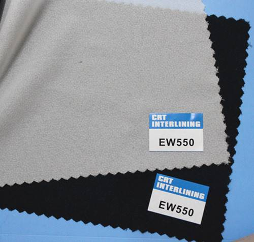 woven fusible enzyme wash interlining-EW550(interfacing)