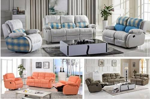 cheap leisure fabric recliner sofa and sofa bed