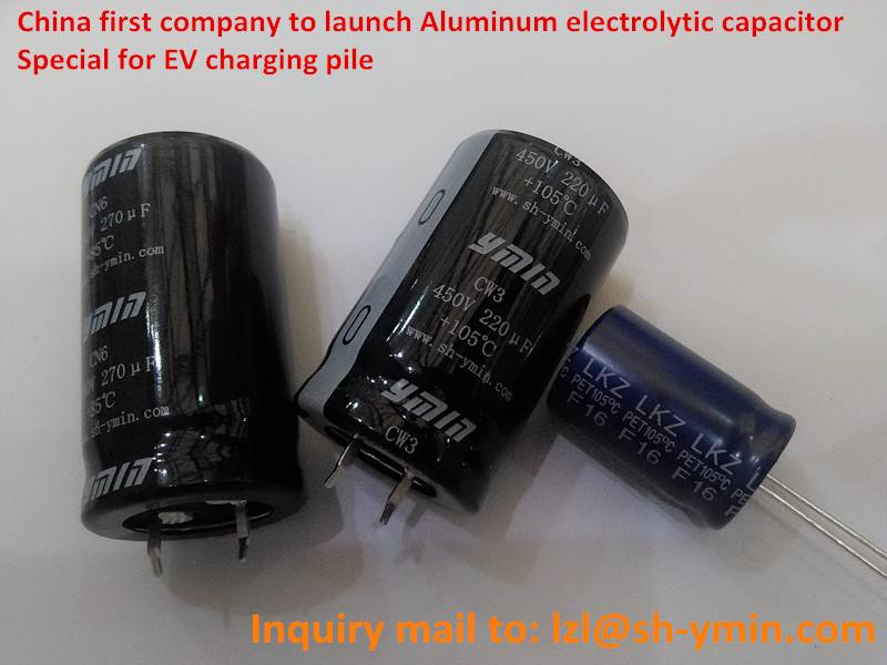 Best Electrolytic Capacitor 6000hours for New Energy Car Charging Pile CN6