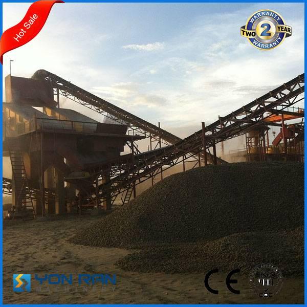 Guangzhou large capacity construction concrete rubber conveyor belt