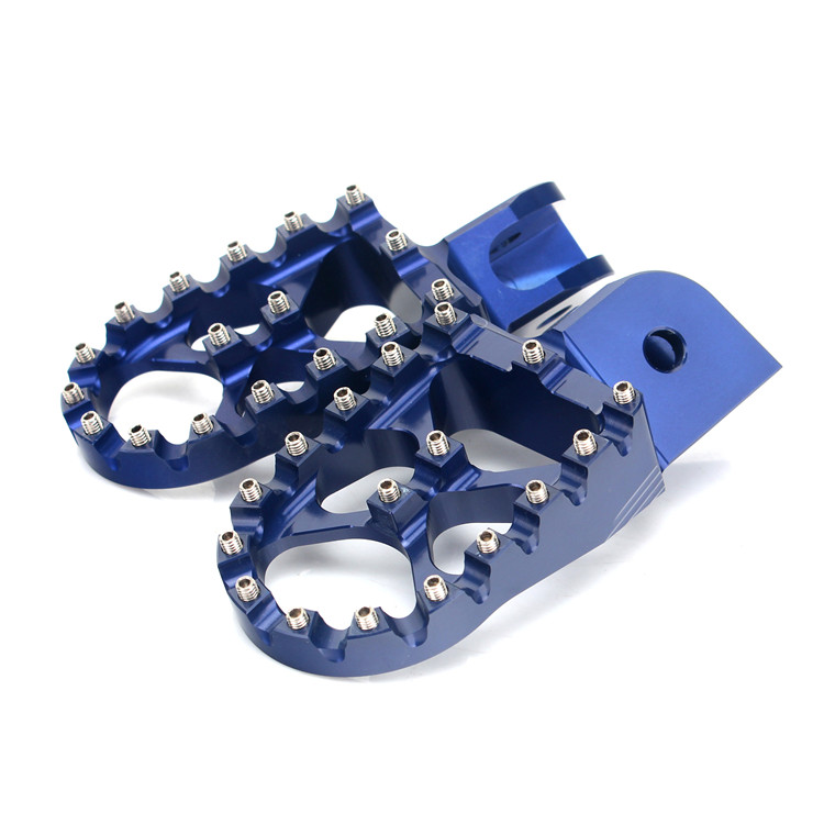 Aluminum MX Foot Rest Footpegs Foot Pegs For BMW