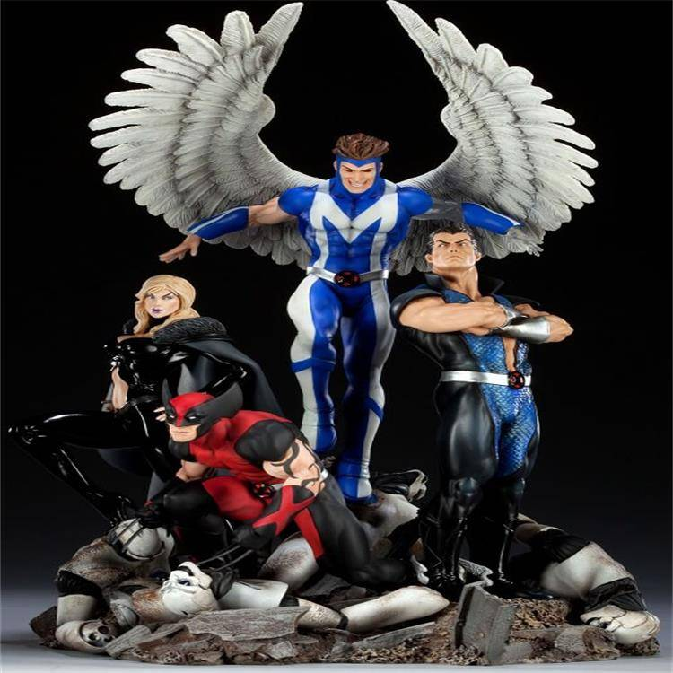 Angel Plastic Figure Toy with Wing Children Toys