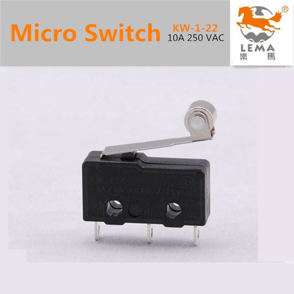 KW-1-21 Roller lever miniature micro switch