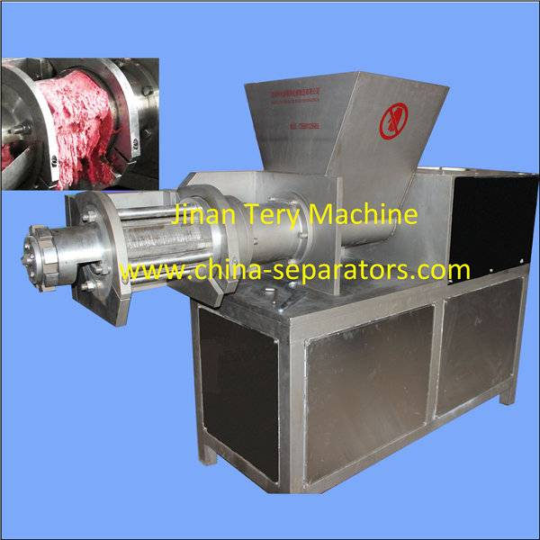 China button control chicken deboning meat machine