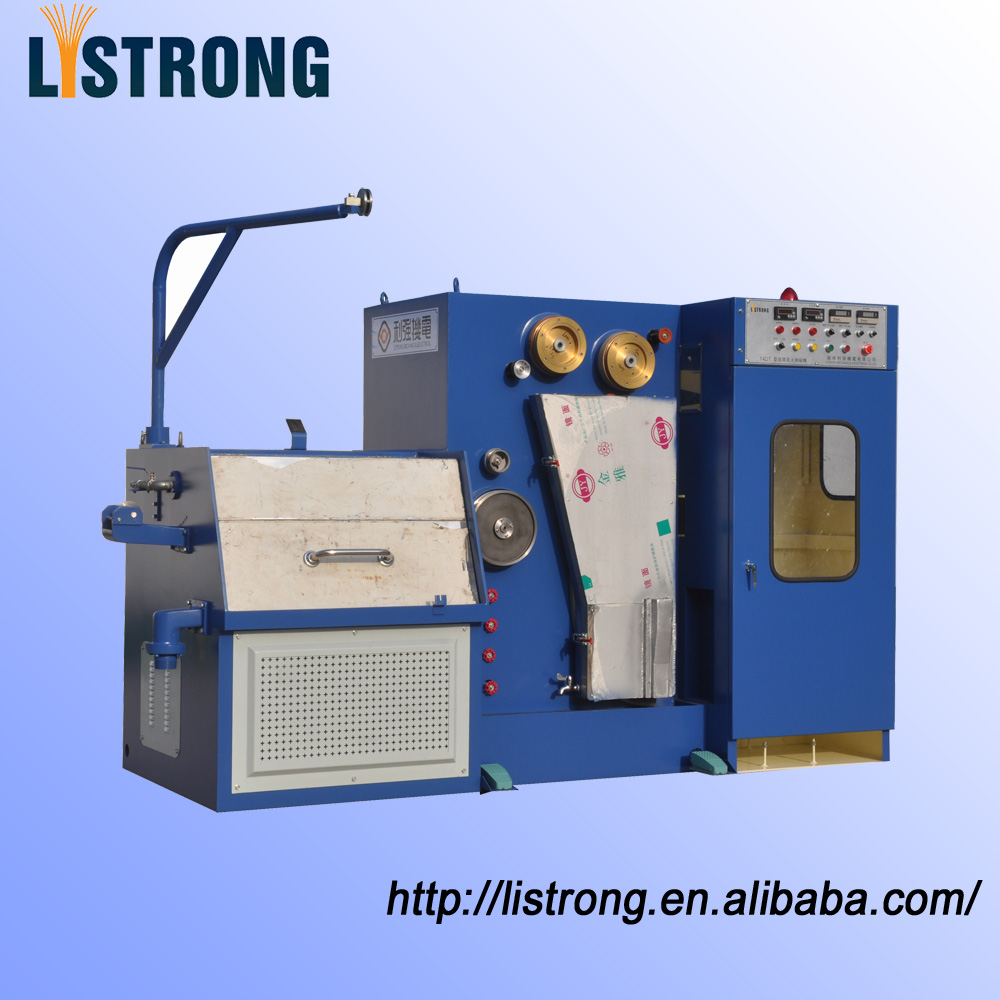 Fine Wire Drawing Machine with Continuous Annealing, Model 14DT