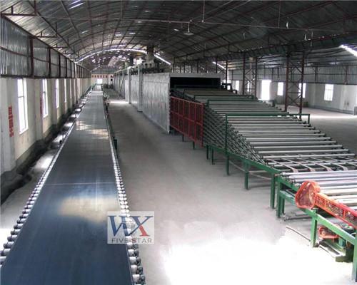 Paperless Gypsum Board Production Line Equipment