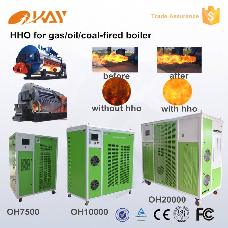Energy saving device combustion chamber for sufficient burning hho for boilers oxyhydrogen generator