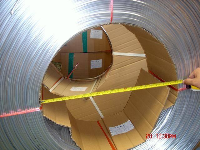 aluminium pipes / tube for air conditioning