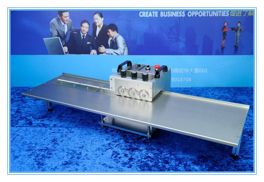Unlimited PCB cutting machine, V cut pcb separator
