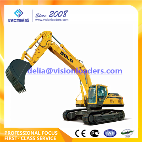 SDLG LG6400E Hydraulic Excavator E6400F Crawler for sale