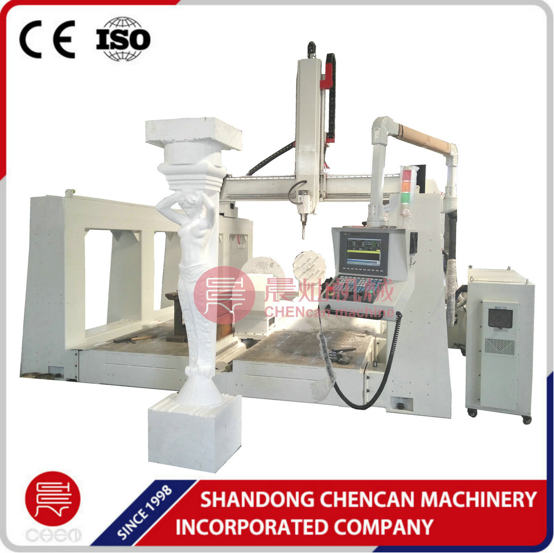 cnc machine center CNC Routers for 3d sculpture foam carving