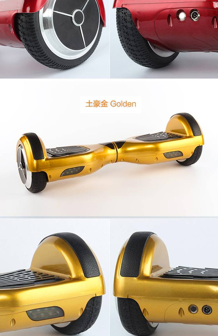 2 Wheel Standing Skateboard hoverboard intelligent balance electric Scooter with free bag and remote