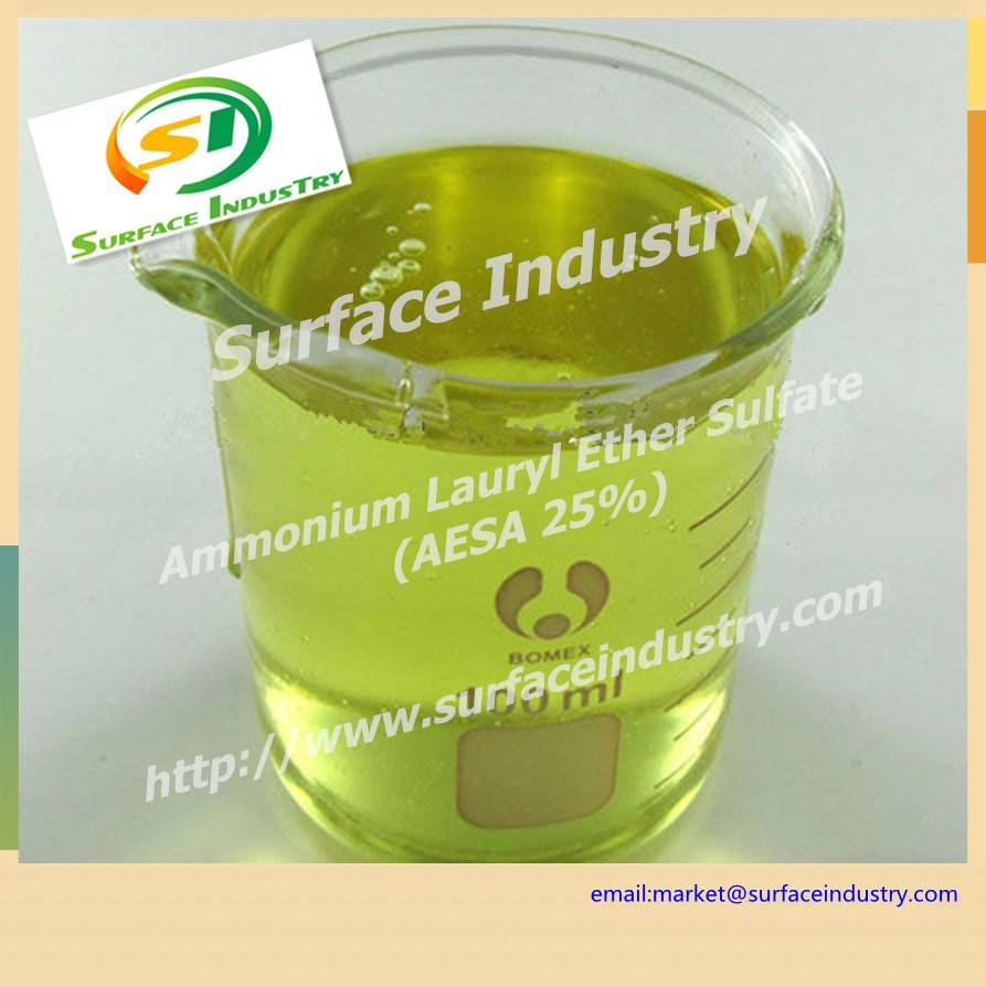 Ammonium Lauryl Ether Sulphate,AESA 25 for Shampoo