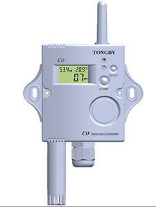 High accuracyElectrochemical CO detector& controller with optional temp. RH