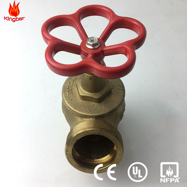 "High Quality 2"" Male Thread Brass Material Fire Hydrant Landing Valve"