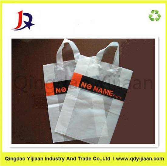 Shopping handle plastic bag