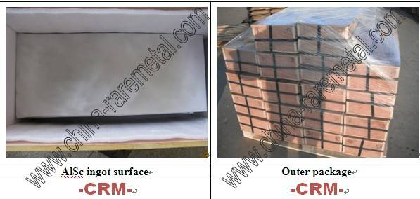 Aluminium scandium AlSc Master Alloy -CRM Material Co.,Ltd.