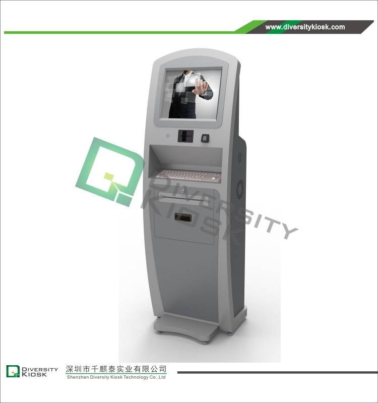 Hotel / Human Resources Self Check-in Kiosk