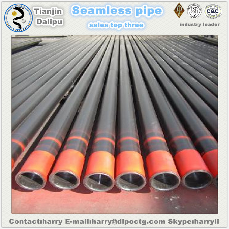 Seamless steel Pipe, Steel Grade J55,N80,P110,PH-6 Petroleum Casing and Tubing in oil and gas