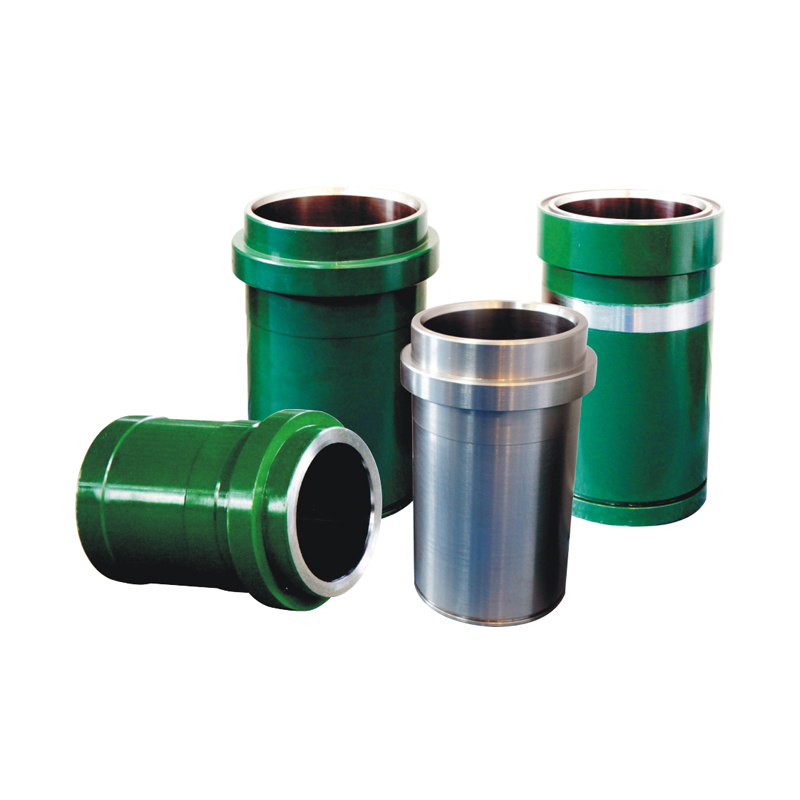 Bi-metal liner for mud pump