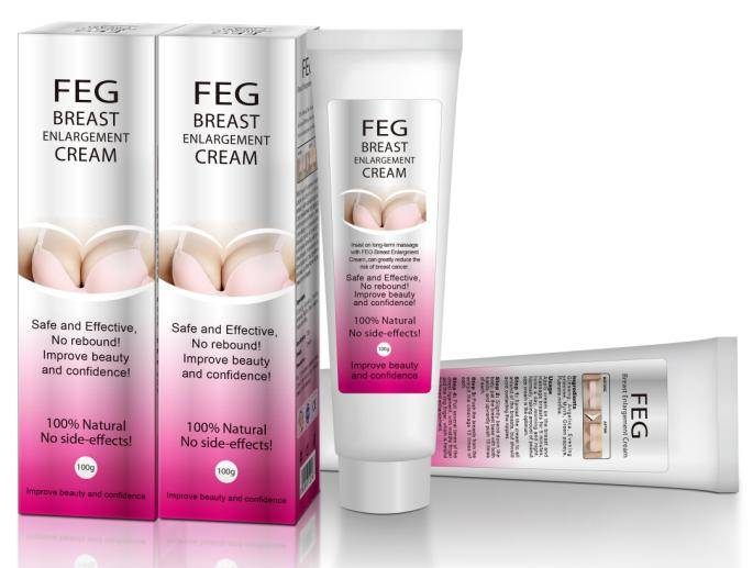Enlarge Cup with FEG Breast Enhancement Cream-Beautiful in White