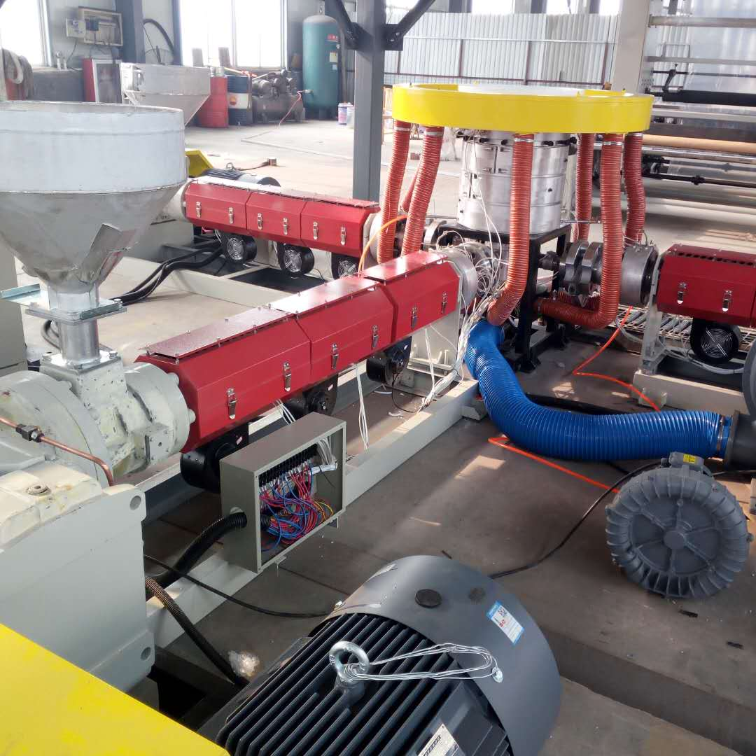 3FM1600 3 layers co-extrusion Package Film blown Machine