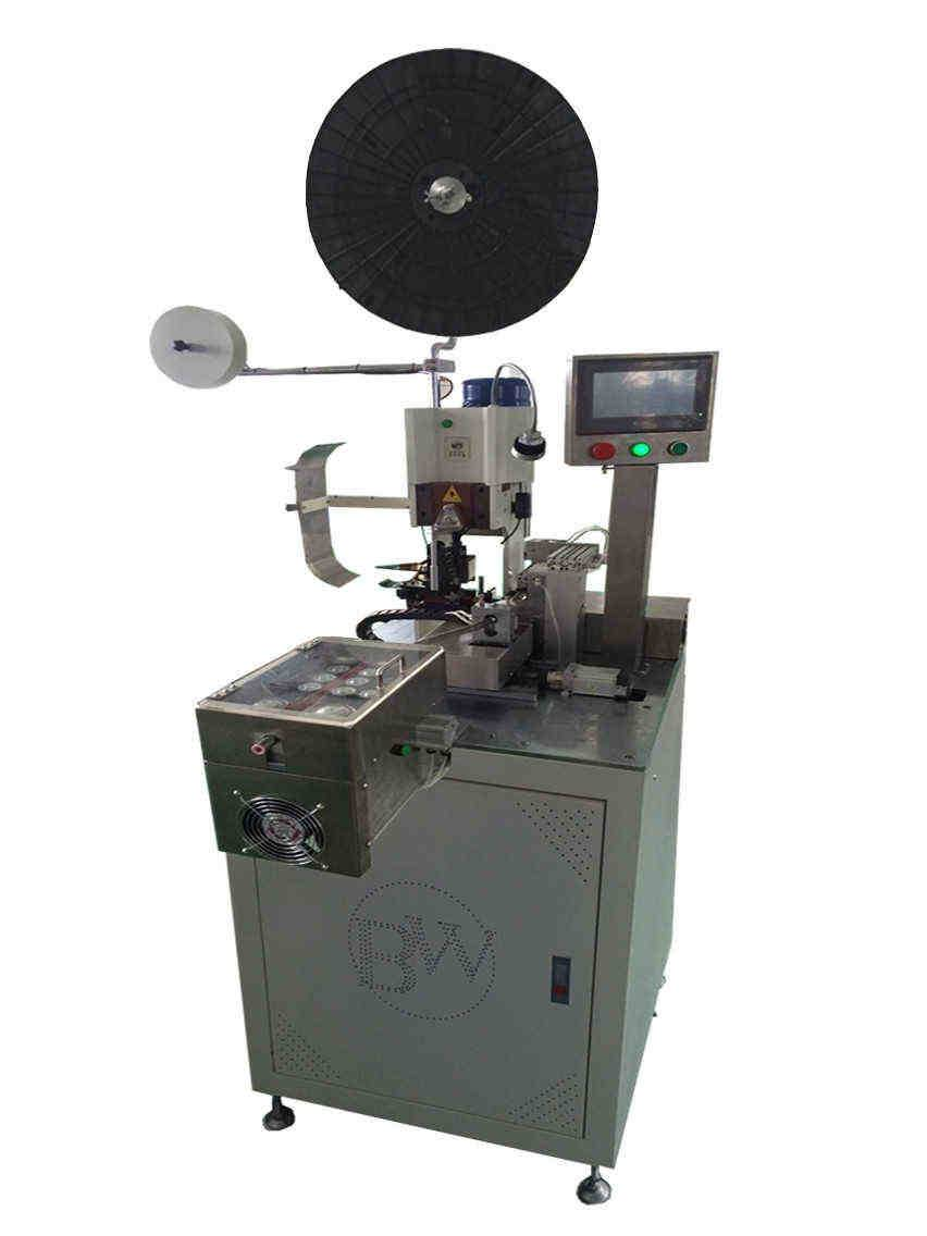 BW-1.0 GF Full automatic photovoltaic wire terminal crimping machine