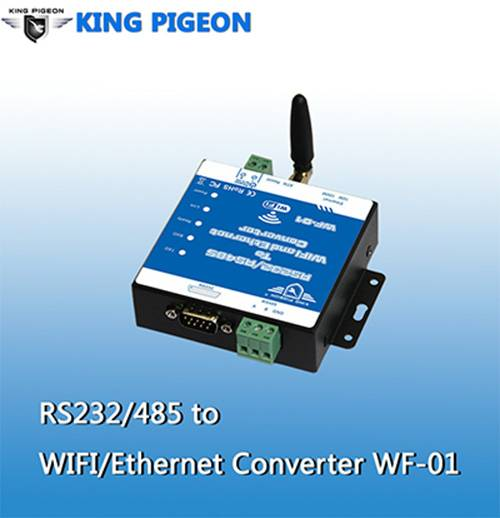 Serial to Wifi/Ethernet Converter (RS232/485+RJ45)
