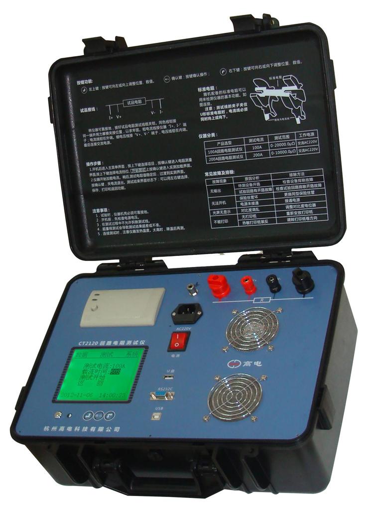 CT2120 circuit resistance tester