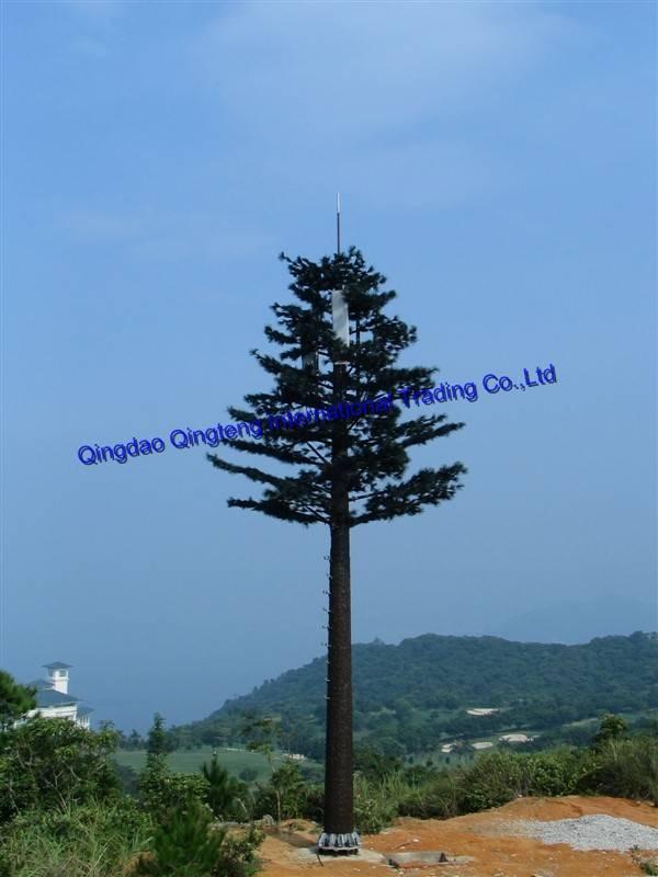 Camouflaged Pine Tree Monopole
