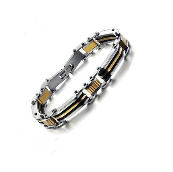 wholesale stainless steel negative ion bracelet