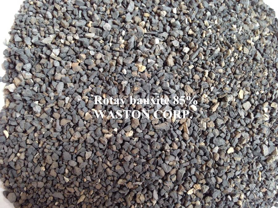 rotary bauxite 85% 1-3mm